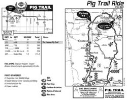 Ride The Ozarks.com || Pig Trail Ride